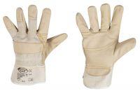 Polsterleder-Handschuh hell