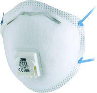 Partikelmaske 3M Komfort 8322 FFP2 NR D mit Klimaventil