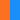 leuchtorange/kornblau