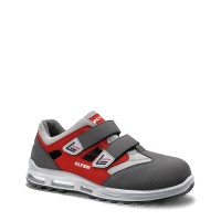 Sicherheits-Sandale Travis grey-red EASY