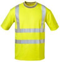 Warnschutz-T-Shirt leuchtgelb, EN ISO 20471 Klasse 2, EN 13758-2, EN ISO 13688