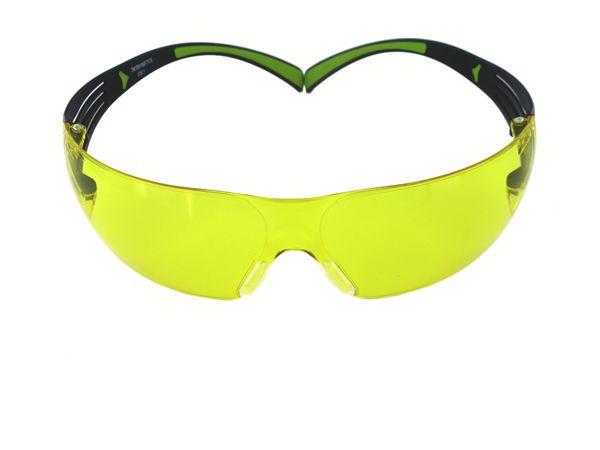 Schutzbrille 3M SecureFit™ 400, gelb, DIN EN 166