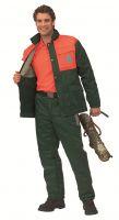 Forstschutz-Jacke mit Schnittschutz