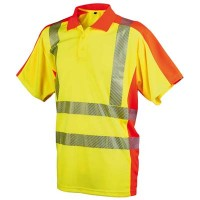 Warnschutz-Poloshirt Yo-HiViz