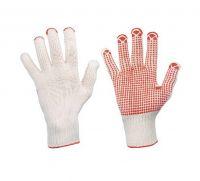 Grobstrick-Handschuh, genoppt
