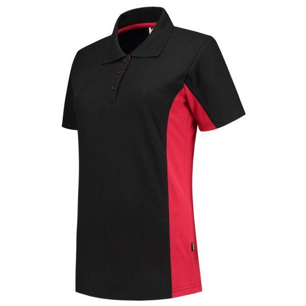 Damen Poloshirt Bicolor