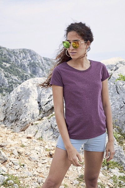 T-Shirt Lady Fit Valueweight T