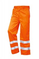 Warnschutzbundhose EN 20471