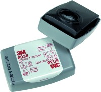 Partikelfilter 3M 6038 P3R mit Aktivkohle