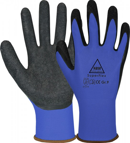Montagehandschuh Superflex, blau
