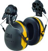 Kapselgehörschutz X2P3, gelb, Adapter für Peltorhelme