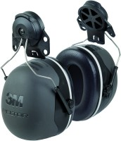 Kapselgehörschutz X5P3, schwarz, Adapter für Peltorhelme