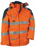 Warnschutz-Winterjacke Protection EN 471, EN 343