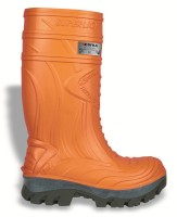 Sicherheits-PU-Stiefel Thermic orange EN ISO 20345 S5 CI HRO SRC