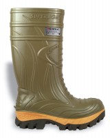 Sicherheits-PU-Stiefel Thermic green EN ISO 20345 S5 CI HRO SRC